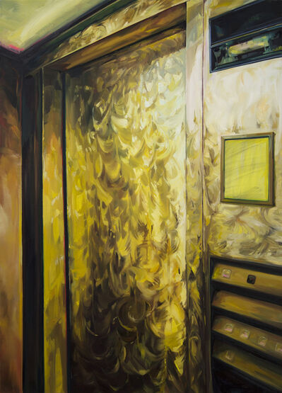 Gillian Iles, 'Gold Express Elevator', 2015