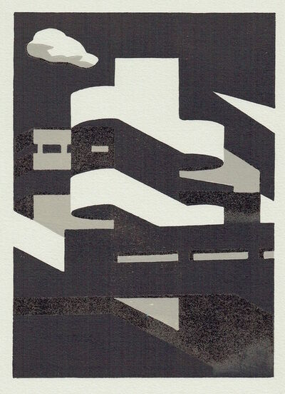 Paul Catherall, 'Southbank Steps II', 2020