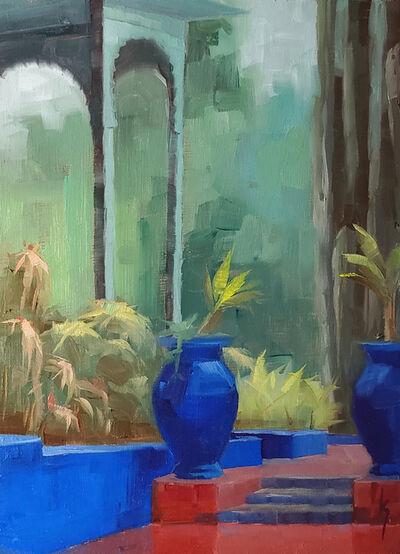 Kirsten Savage, 'Blue Paradise ', 2020