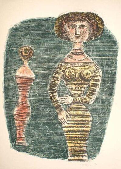 Massimo Campigli, 'The Promenaders ', 1957