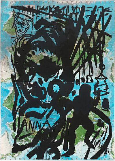 Julian Schnabel, 'For Anna Magnani', 1985