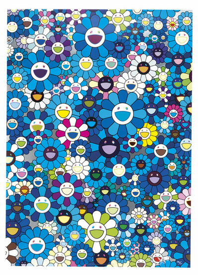 Takashi Murakami, 'An Homage To Yves Klein Multicolor D, 1957', 2012