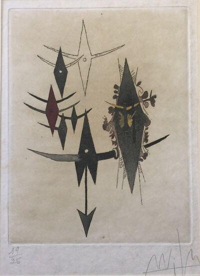 Wifredo Lam, 'Croiseur Noir', 1972