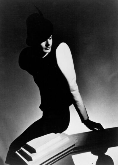 Horst P. Horst, 'White Sleeve: Clothing and hat by Robert Piguet, Paris', 1936
