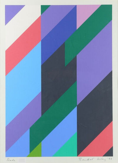 Bridget Riley, 'Shade', 1992