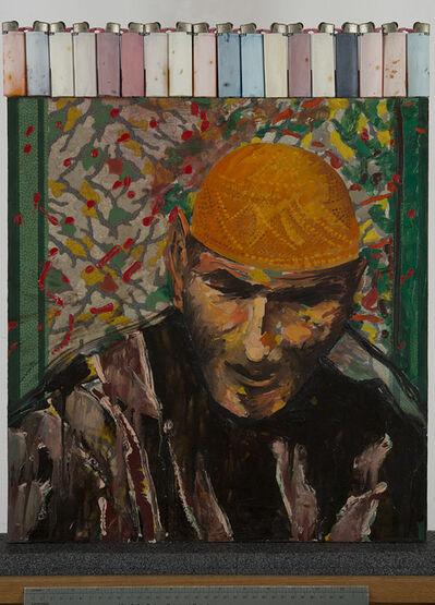 Aldo Mondino, 'Ritratto', 1986