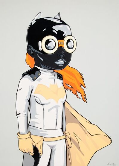 Hebru Brantley, 'Batgirl (KJM Variant)', 2018