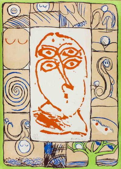 Pierre Alechinsky, 'Ophtalmologue', 1972