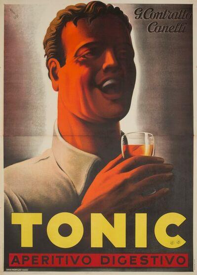 Mario Gros, 'TONIC – CONTRATTO CANELLI', 1938