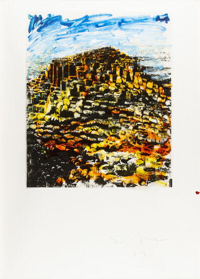 Mario Schifano, 'Rovine', 1982