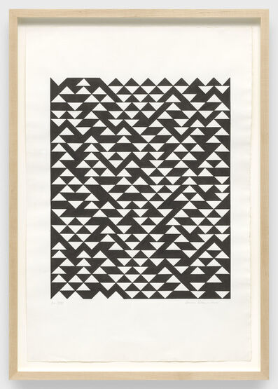Anni Albers, 'DR XVII', 1974