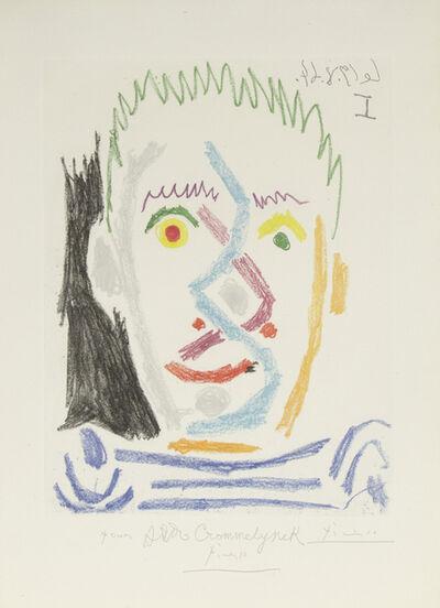 Pablo Picasso, 'Tete d'Homme Autete d'Homme au Maillot Raye', 1964