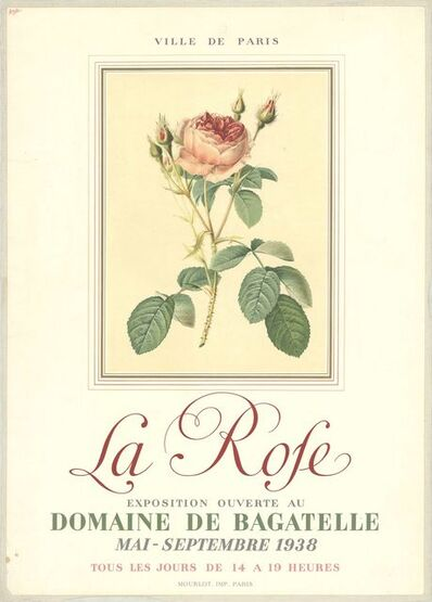 Unknown, 'La Rose', 1938