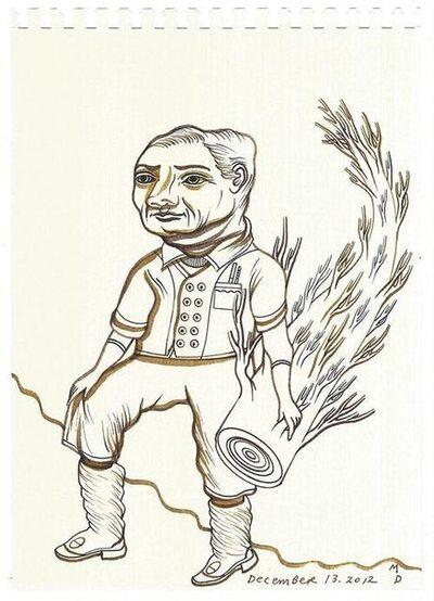 Matthew Dennison, 'Daily Drawings: December 13, 2012', 2012