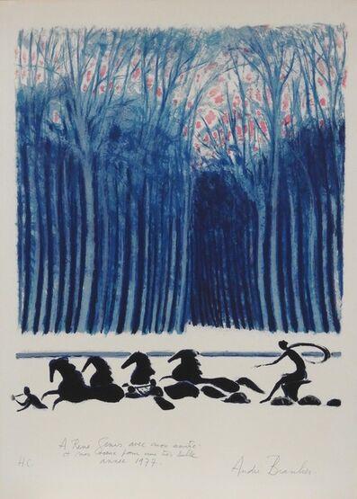 Andre Brasilier, 'Le char d' Apollon', 1976
