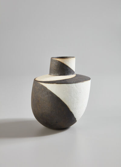"John Ward, '""Black and White Vessel""', 1990s"