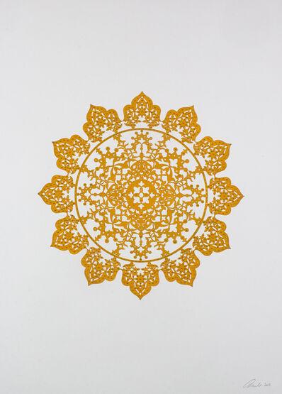Anila Quayyum Agha, 'Flowers (Mustard Yellow)', 2017