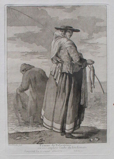 Giovanni David, 'A Woman of Palestrina', 1775