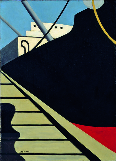 Ralston Crawford, 'At the Dock', 1940