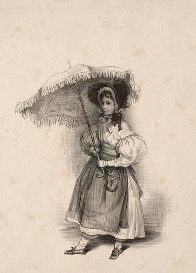 Paul Gavarni, 'Mlle Feydeau', 1814-1866