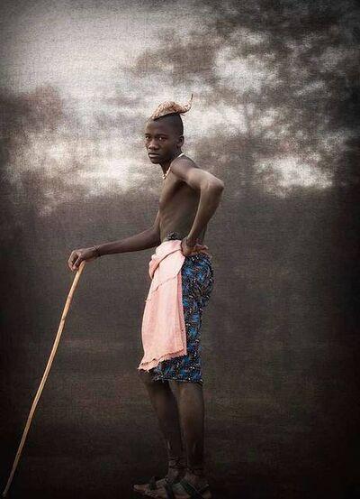 Christopher Rimmer, 'Ovahimba Cattle Herder, Namibia', 2016
