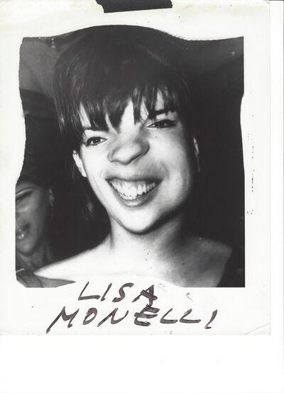 Weegee, 'Lisa Minnelli ', ca. 1961