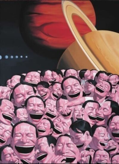 Yue Minjun, 'Starry Night (from Snatched Ecstasy)', 2009