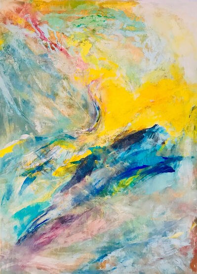 Tanja Bergman, 'Crane, Morning Sun and Mountain', 2017