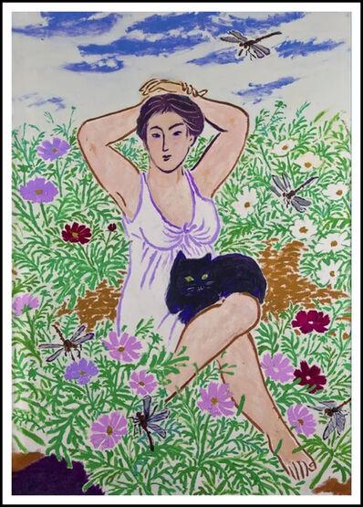 Mayumi Oda, 'Cosmos Garden', ca. 1980