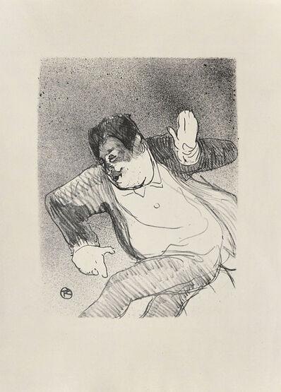 Henri de Toulouse-Lautrec, 'Caudieux at the Petit Casino', 1893