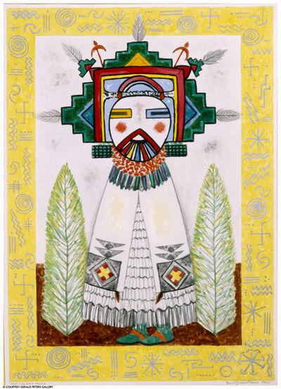 Emil Bisttram, 'Hopi Calako Mana', ca. 1930s