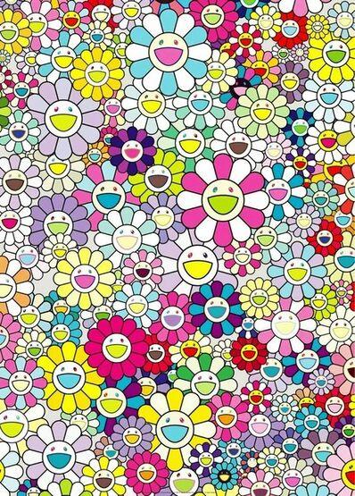 Takashi Murakami, 'Champagne Supernova, Multi Colored', 2013