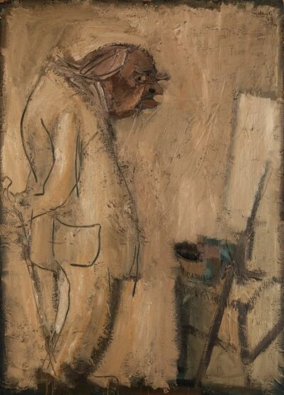Carlo Mattioli, 'Ritratto di Carrà', 1964
