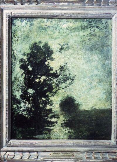 Ralph Albert Blakelock, 'Silvery Moonlight', 1880-1895