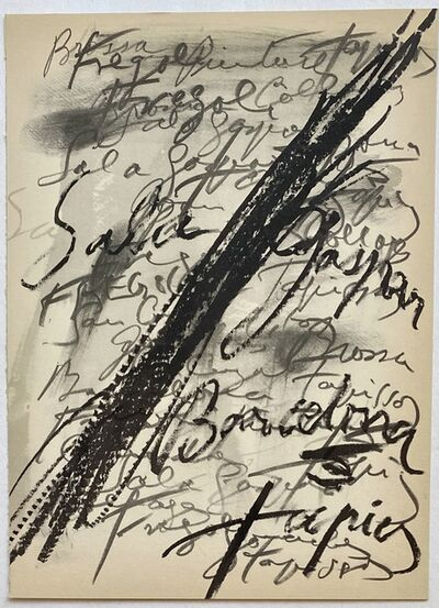 Antoni Tàpies, 'Antoni Tàpies lithograph 1960s ', 1969