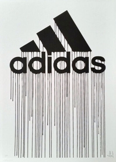 Zevs, 'Liquidated Adidas (from Liquidated London set)', 2012
