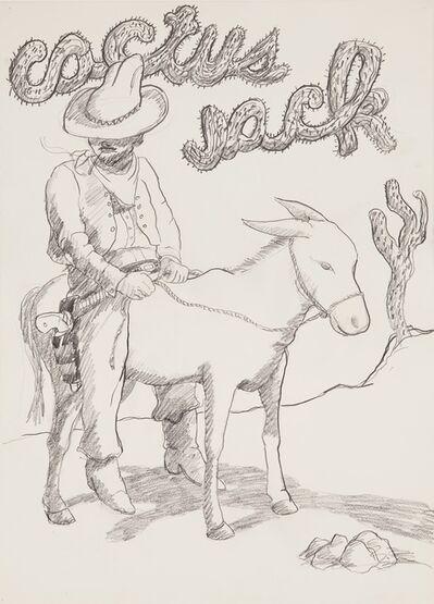 Robert Colescott, 'Cactus Jack', 1976