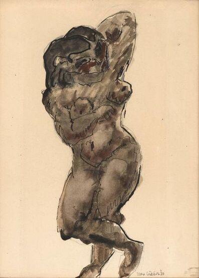 Max Weber, 'One Figure', 1930