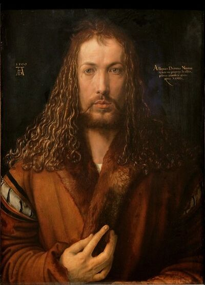 Albrecht Dürer, 'Self-portrait', 1500