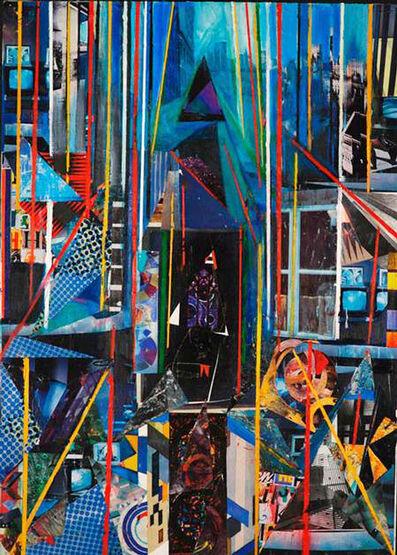 Martin Cohen, 'Blue Cityscape Window', 2008