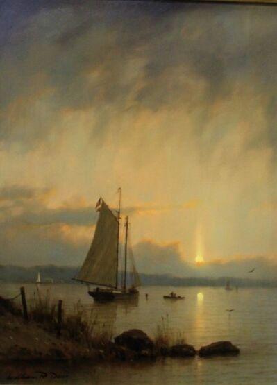 William R. Davis, 'Harbor Sunset', 2016