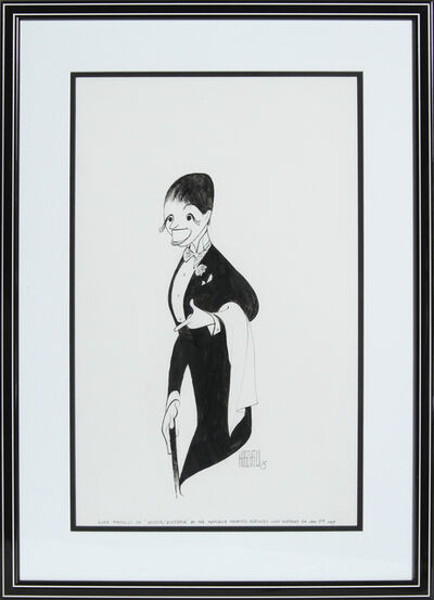 Al Hirschfeld, 'Liza Minnelli after Victor/Victoria', 1997
