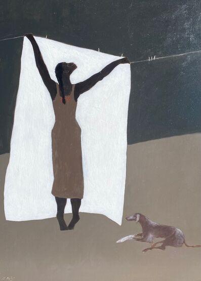 Gigi Mills, 'Laundry/RedHound', 2021