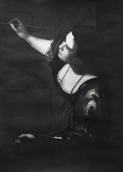 """Radenko Milak, 'Artemisia Gentileschi, from the series """"Female Heroes""""', 2016"""