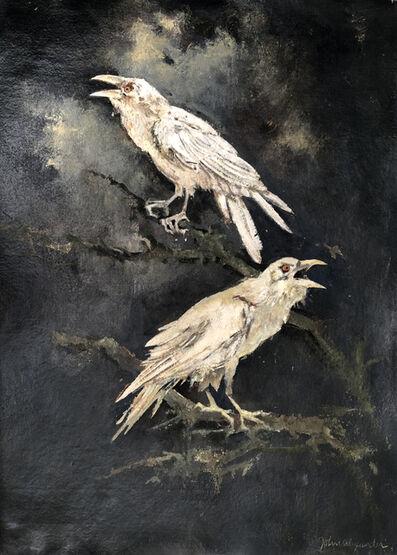 John Alexander, 'White Ravens', 2017