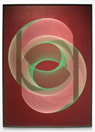 Eduardo Mac Entyre, 'Pintura Generativa, Desarrollos Opuestos', 1964