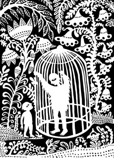 Andrea Dezsö, 'Grimm Illustrations: The Wild Man', 2014