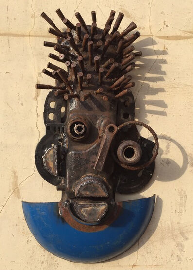 Gonçalo Mabunda, 'Untitled (Mask)'
