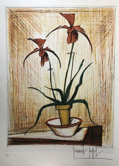 Bernard Buffet, 'Les Orchidées', 1979