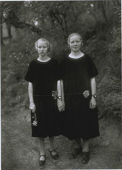 August Sander, 'Sisters', 1927